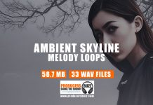 Ambient Skyline - Hip-Hop/Trap Drum Samples & Melody Loops