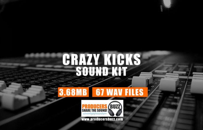 Crazy Kicks Drum Sample Kit | Hip-Hop & Trap Kicks