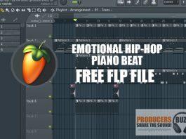 Emotional Piano Hip-Hop Beat FL Studio 20 Project File