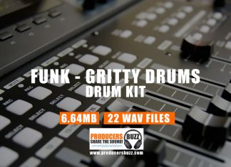Gritty Drums & Gritty Funk Sound Kit | Free Funk Drum Samples