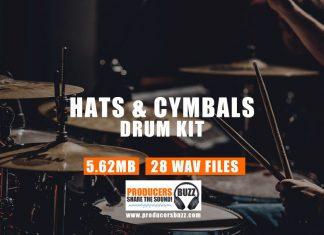 Hi Hat Cymbals Sound Kit (Hi Hat Sounds & Cymbal Crash Sound Effects)