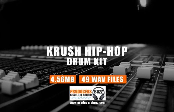 Krush Drum Kit - Hip-Hop/Trap Drum Samples Sound Kit