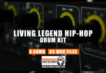 Living Legends Drum Kit - Hip Hop Drum Samples