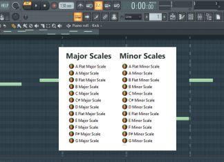 Minor & Major Scales (Ghost Notes FL Studio Templates)