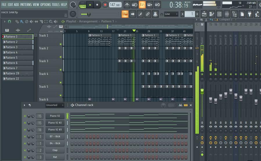 FL Studio 20 Full Beginners Course - Video Training Tutorials