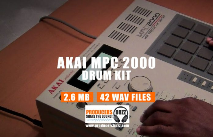 Akai MPC 2000 Drum Samples