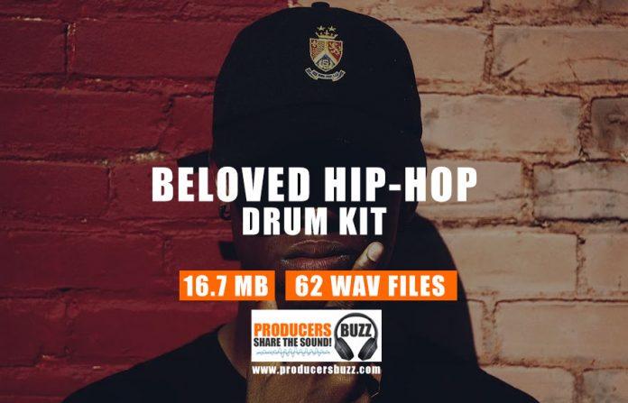Beloved Hip-Hop Drum Kit