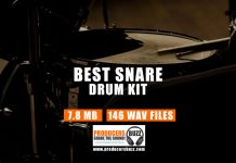 146 High Quality Snare Drum Samples (Drum Kit)