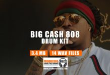 Loaded Big Cash 808 Drum Sound Kit
