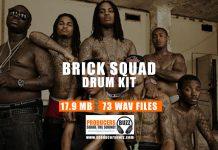 Brick Squad Sound Kit - Hip Hop Drum Samples & Drum Loops