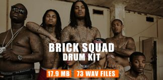 Brick Squad Sound Kit - Hip Hop Drum Samples & Drum Loops