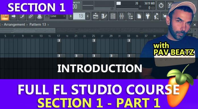 FL Studio Full Free Beginners Course - The Introduction
