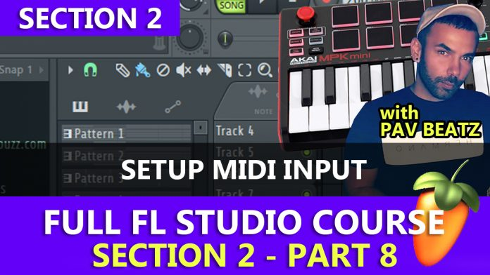 How to Setup your Midi Input & Output in FL Studio