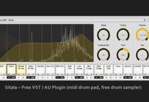 Sitala - Free VST Plugin (midi drum pad, free drum sampler)