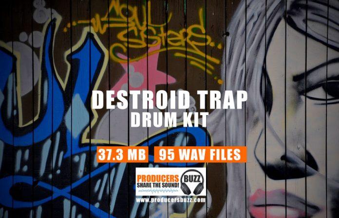 Destroyed Trap Drum Kit