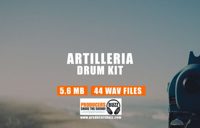 Gun Sounds Drum Kit