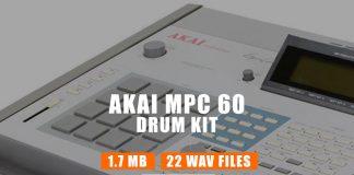 Akai MPC 60 Drum Kit