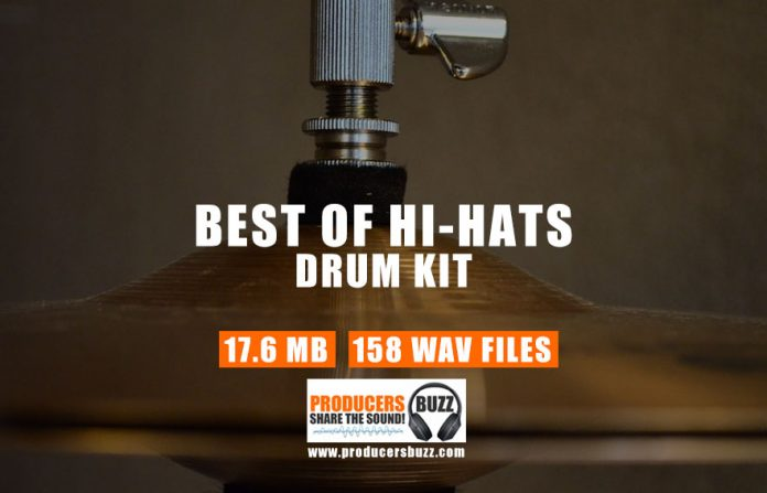Best of Hi-Hat Collection Drum Kit