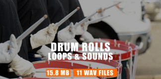 Drum Rolls & Drum Roll Loops Drum Kit