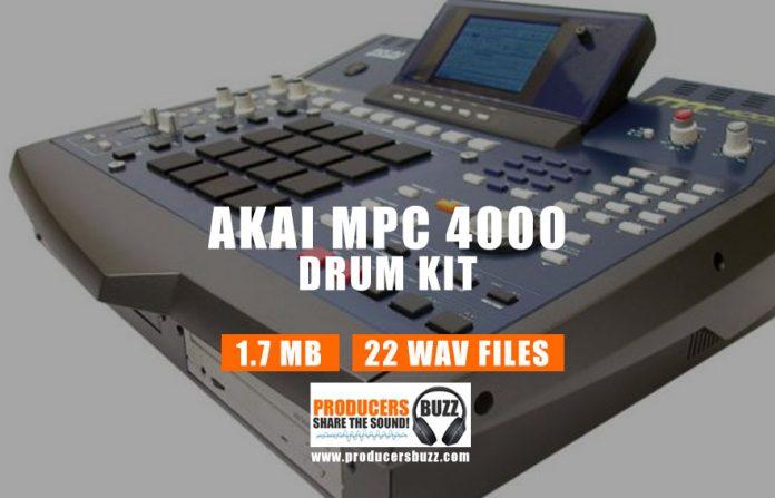 Akai MPC 4000 Drum Kit