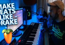 Making DRAKE Type of Beats in FL Studio 20 Tutorial