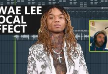 Swae Lee Vocal Effects Settings for FL Studio 20