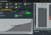 MCompressor Free VST Plugin for Crystal Clear Sound