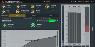 MCompressor Free VST Plugin for Crystal Clear Sound