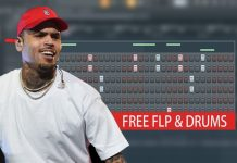 Chris Brown Club Style Drum Patterns in FL Studio Tutorial