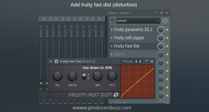 Add fruity fast dist (distortion)