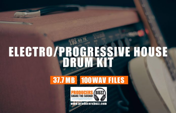 Free Electro House Drum Kit and Progressive House Loops