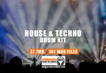 House & Techno Drum Kit