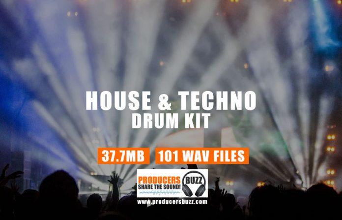 House & Techno Drum Kit