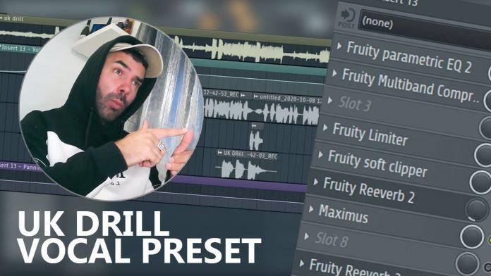 UK Drill Vocal Preset FL Studio