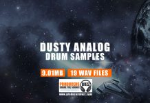 Dusty Analog Drum Kit