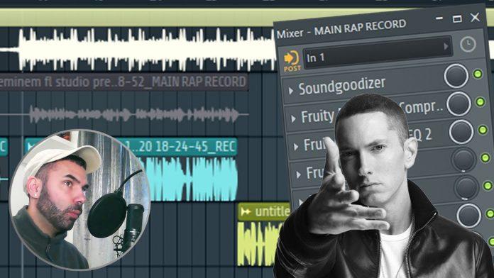 Eminem Vocal Rap Settings in FL Studio