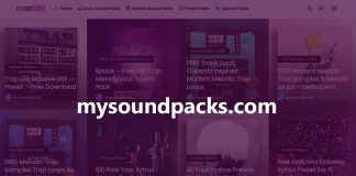 My Sound Packs - New Trap Melody Loops & Drum Samples