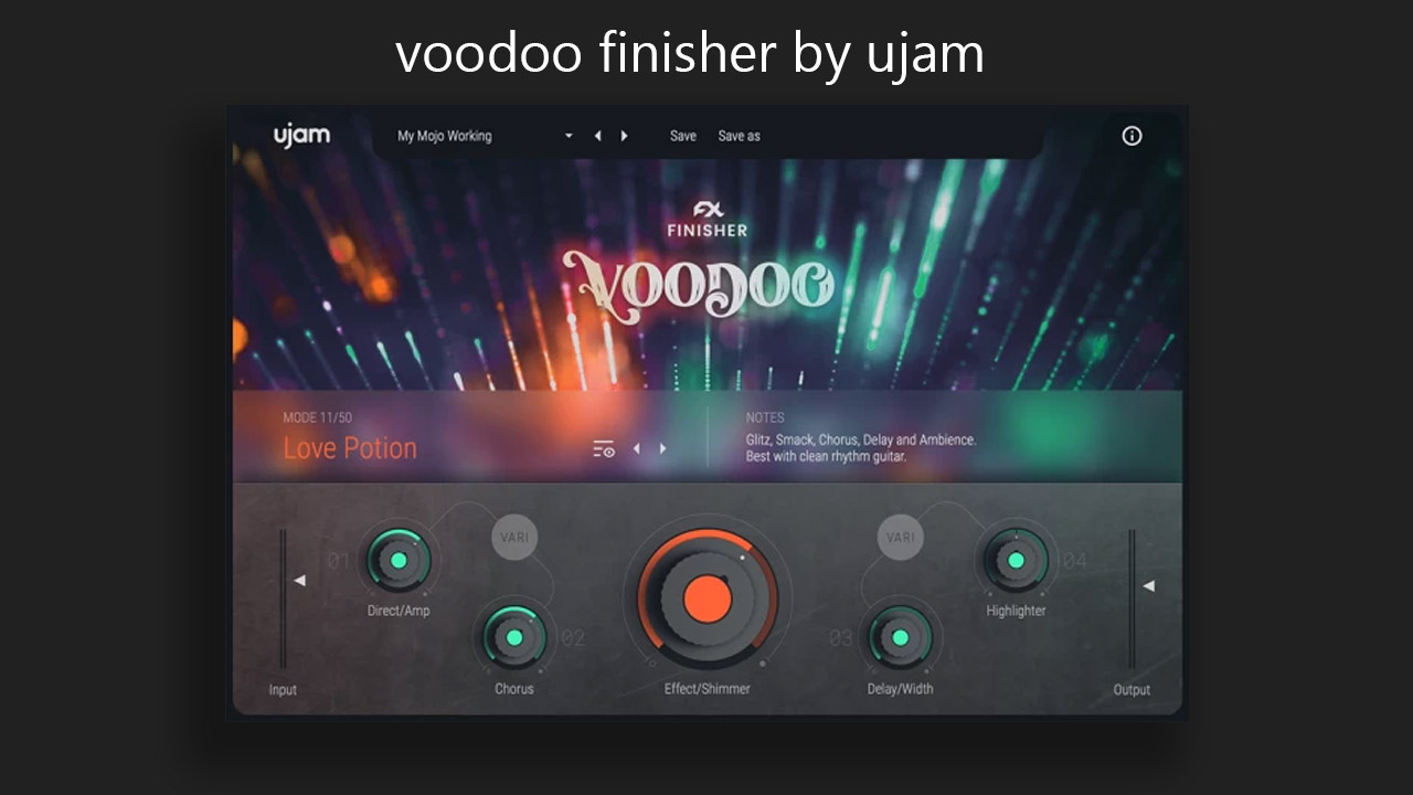 Voodoo finisher by Ujam