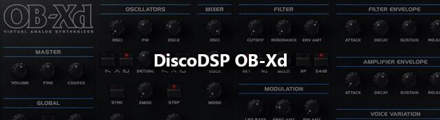 DiscoDSP OB-Xd