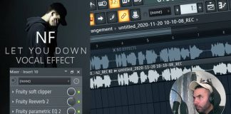 NF - Let You Down FL Studio Vocal Preset