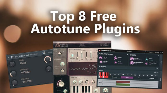 Top 9 Free Autotune Plugins