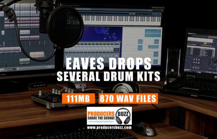 Eves Drops Hip-Hop & Trap Drum Kit