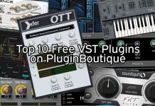 Top 10 Free Download VST Plugins on PluginBoutique.com