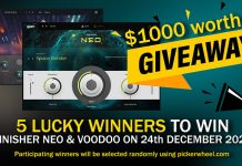 $1000 VST Plugin Giveaway to 5 Lucky Music Producers