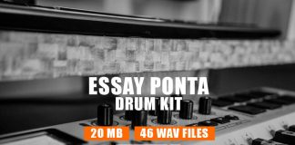 Essay Potna Rap Drum Kit