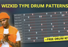 Making Wizkid & Afrobeat Type Drum Patterns in FL Studio