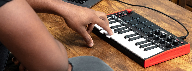 Akai MPK Mini Mk3 main keyboard