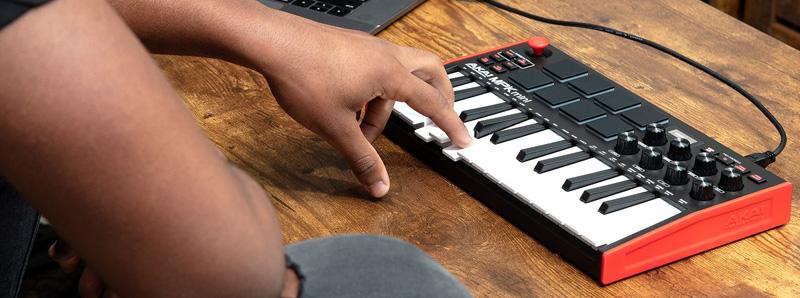 Akai MPK Mini Mk3 main keyboard