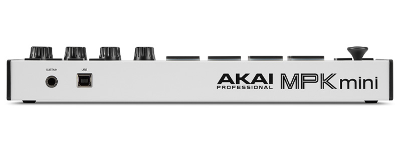 Akai MPK Mini Mk3 - Side View