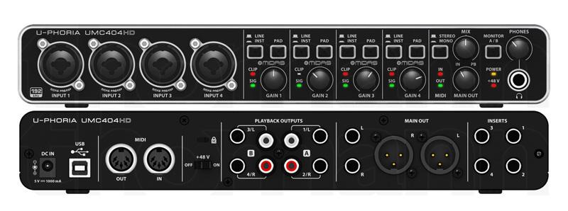 Behringer UCM 404HD Audiophile